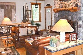 Mountain Lodge styled Great Room