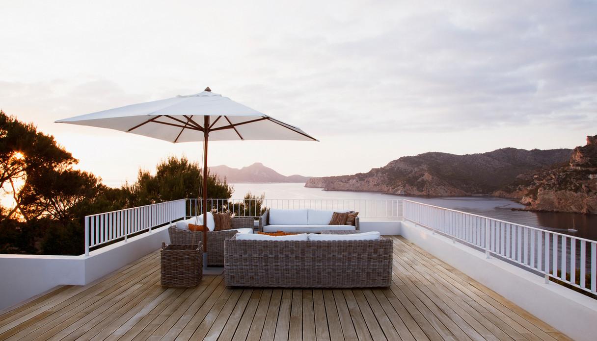 patio iron railing