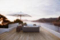 patio furniture modern deck