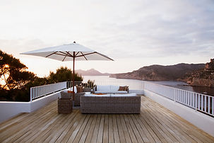 patio furniture modern deck