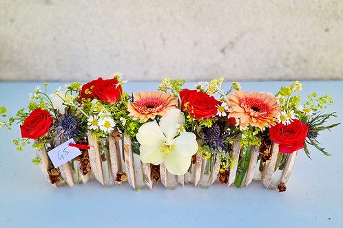 Structure fleuri