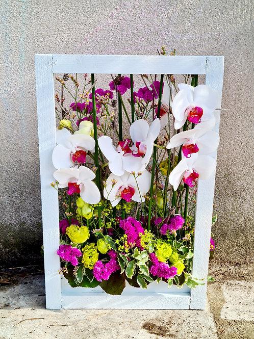 Cadre fleuri