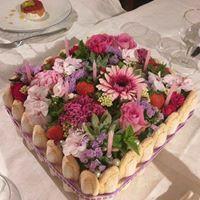Gâteau fleurie