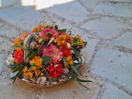 """CARNET: Créations florales """"été"""""""