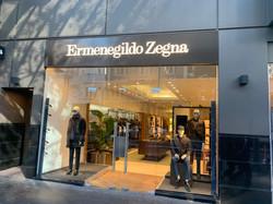 Zegna Shop Queen Street
