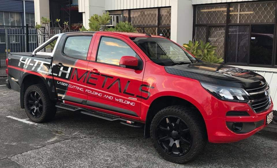 Hi-Tech Metals Ute Wrap