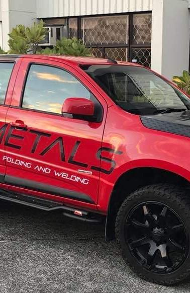 Hi-Tech Metals Ute Wrap