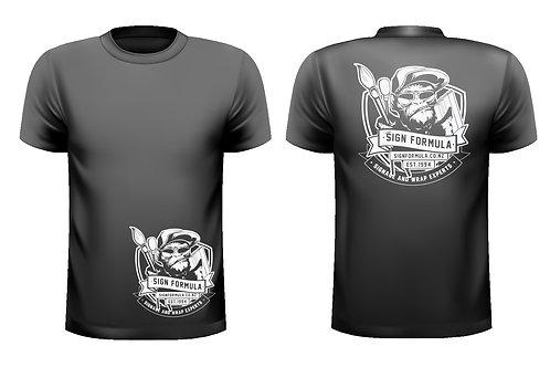 Sign Formula Branded T-Shirt