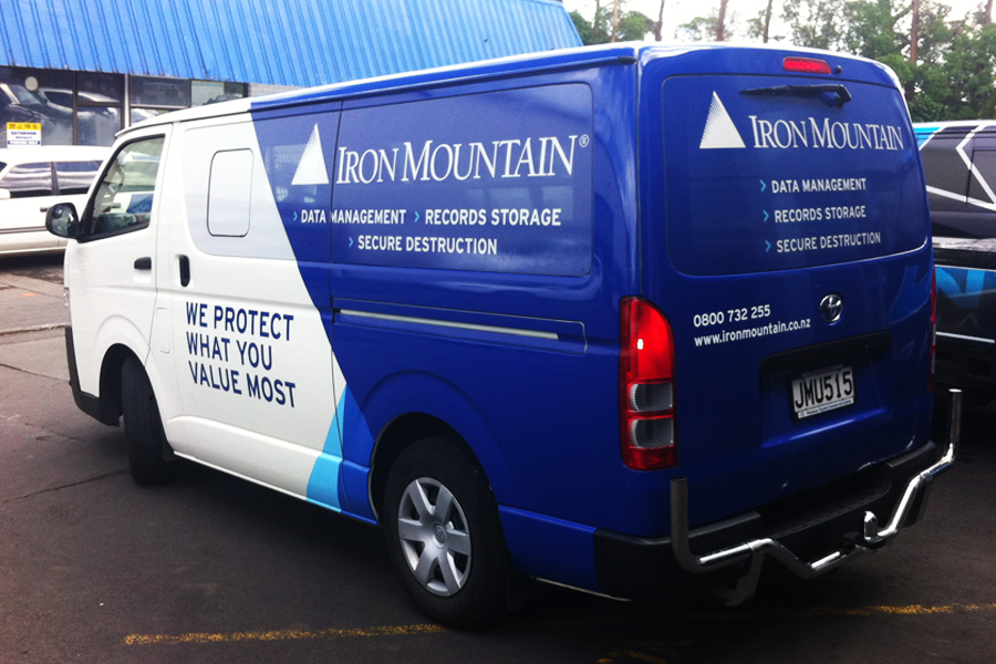 Iron Mountain Van.