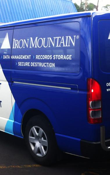 Iron Mountain Van