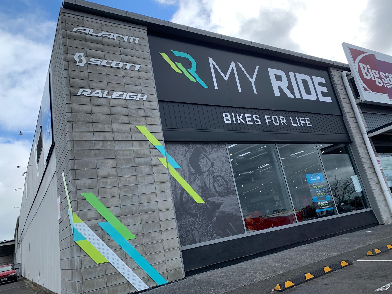 MyRide Westgate Shop Frontage