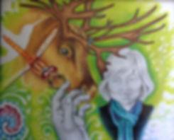 shamanic art of Cathie Grindler