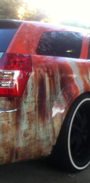 Rust Wrap Back
