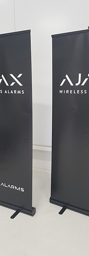 Ajax alarms Pull-up Displays