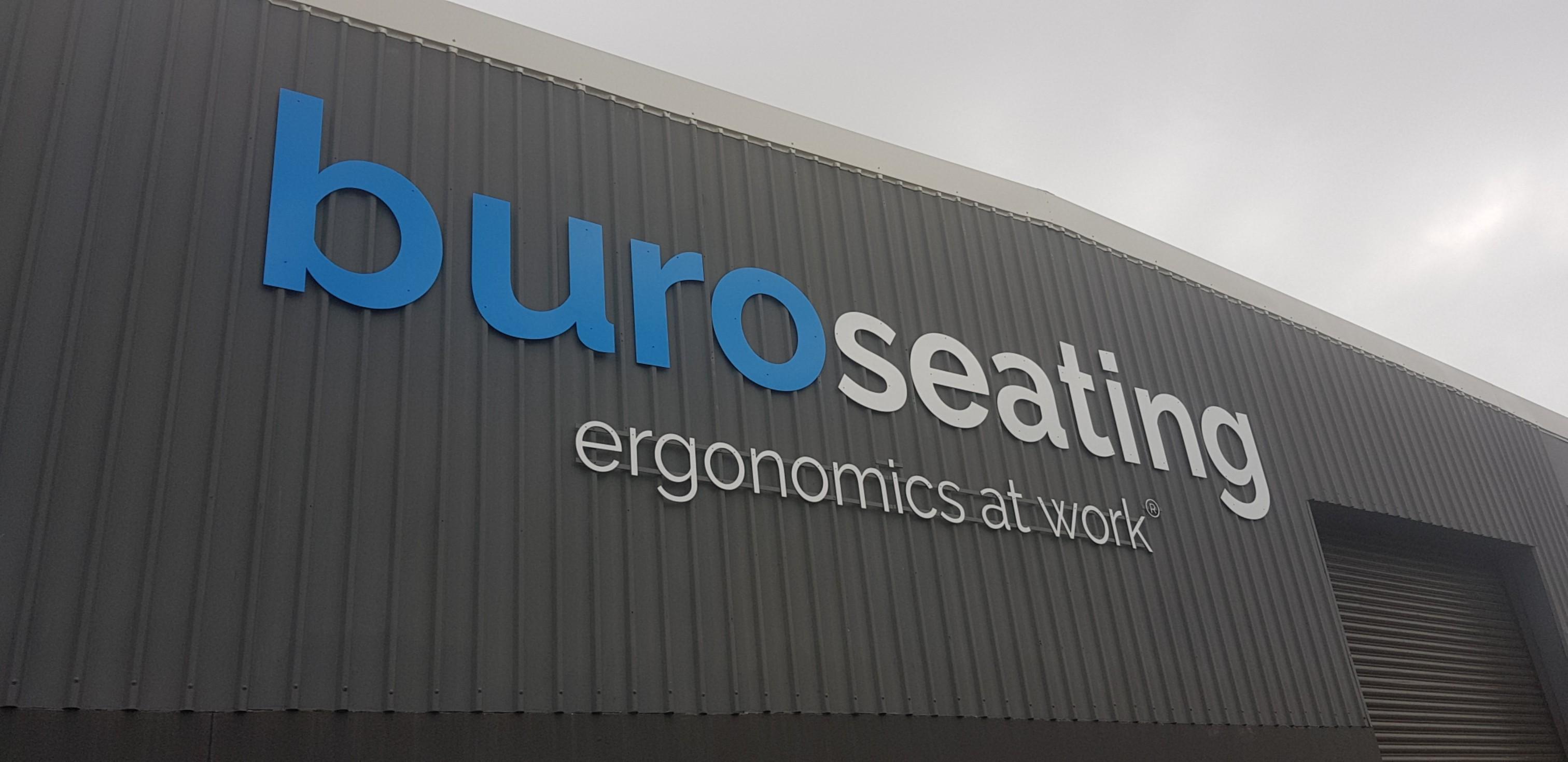 BURO 3D building Signage 2