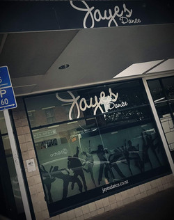 Jayes Dance Signage