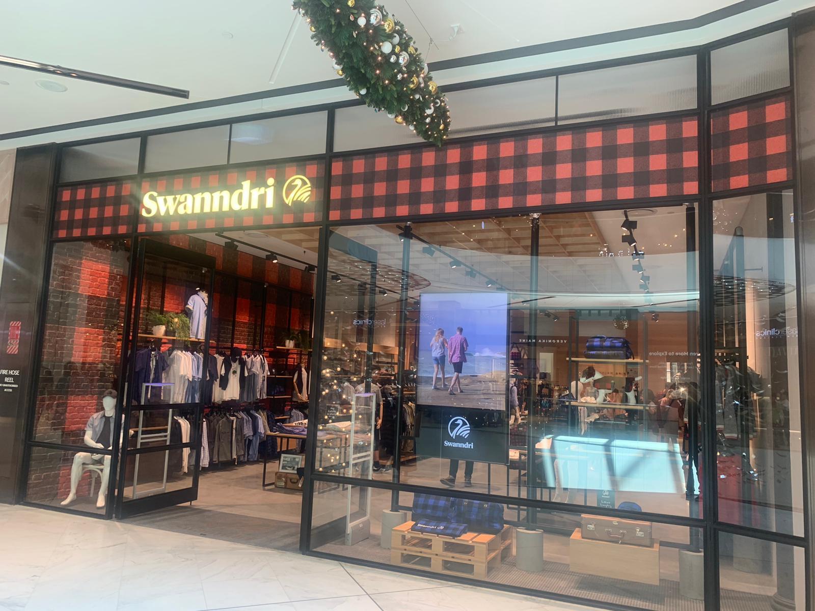 Swanndri Shop frontage