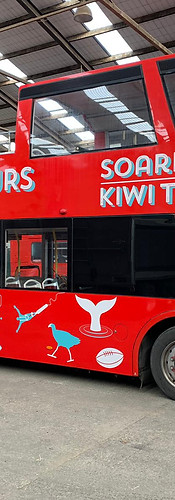 Soaring kiwi Tours Bus