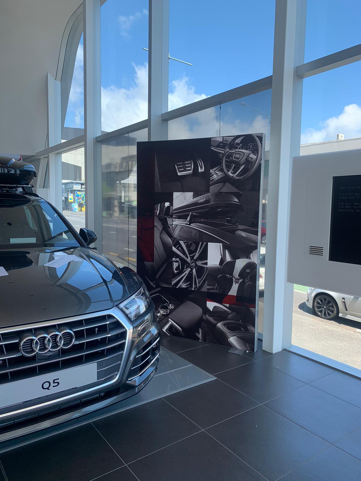 Audi Lightbox Display