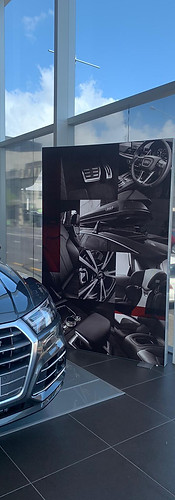 Audi Lightbox Display