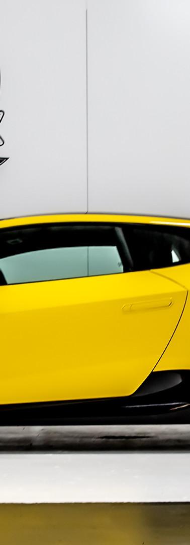 Yellow Lambo Wrap