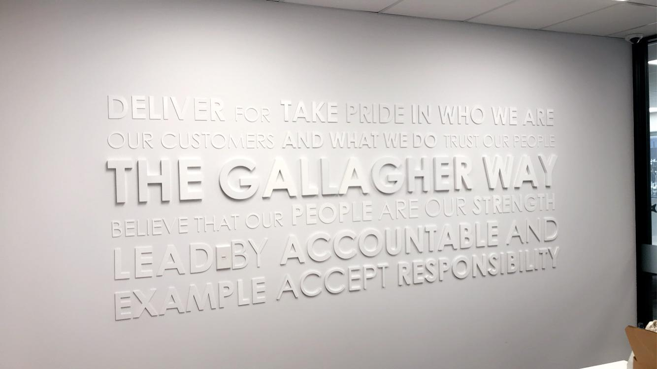 Gallagher Basset Wall