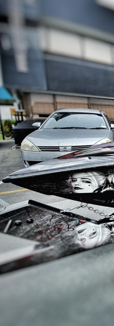 Joker boat and trailer wrap