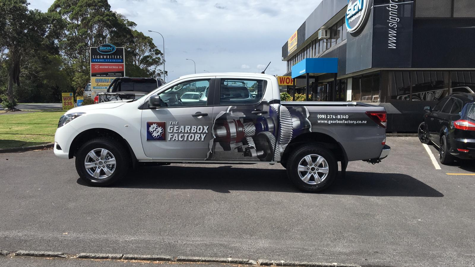 Gearbox Factory Ute