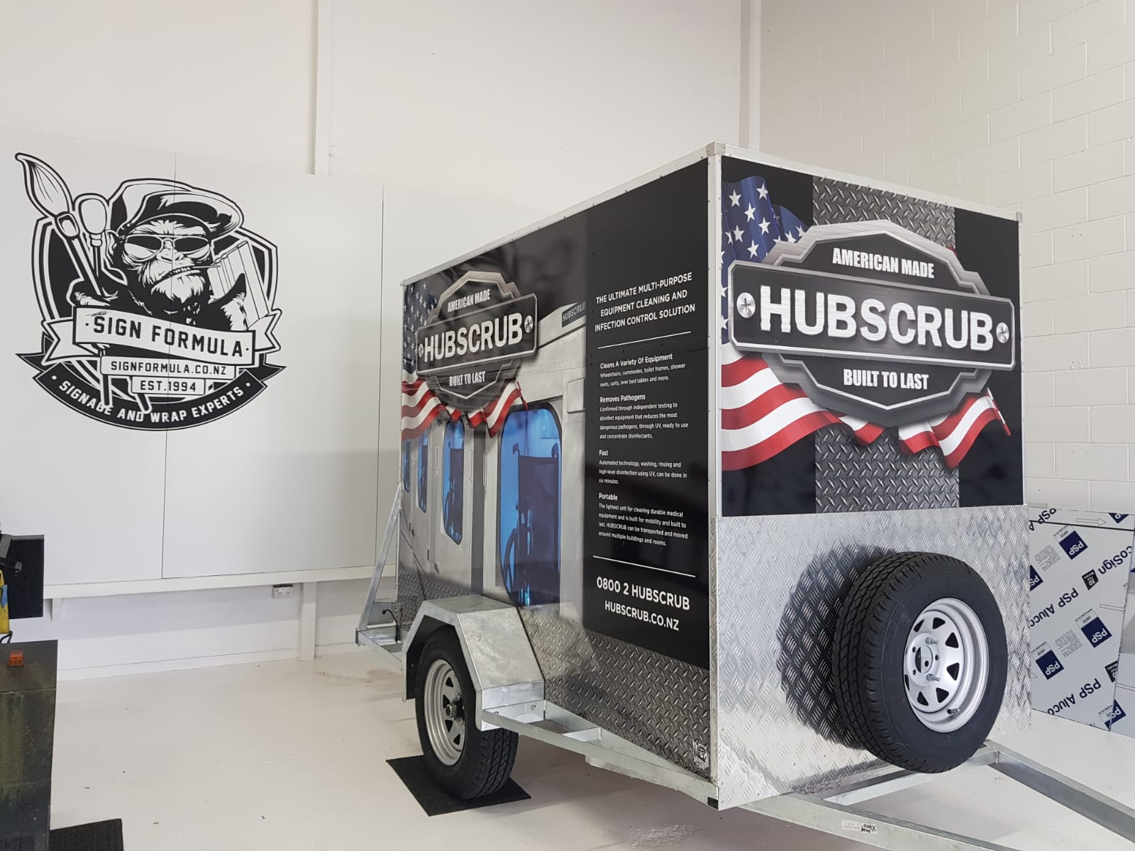 Hubscrub Trailer