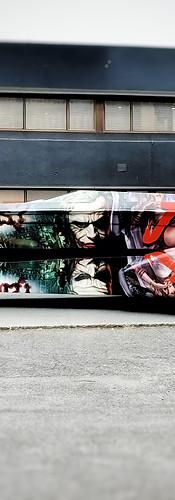 Joker trailer and boat wrap
