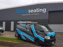BURO 3D building Signage