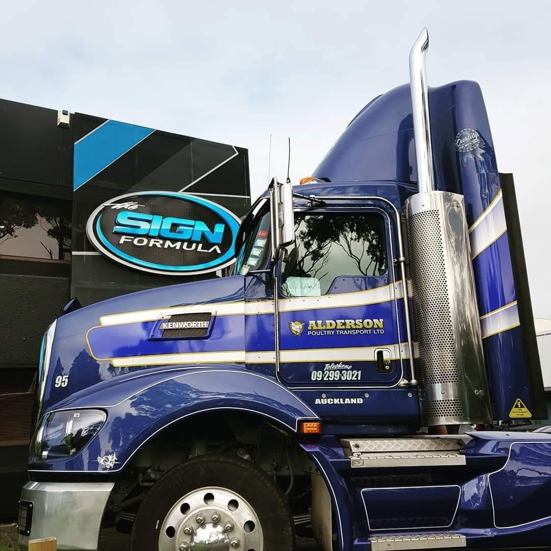 Alderson Truck Signage