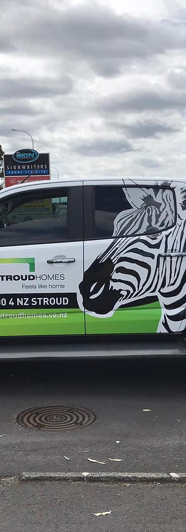 Stroud Homes ute 2
