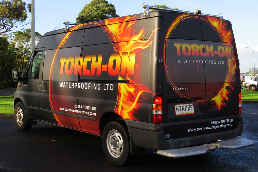 Torch-On Van