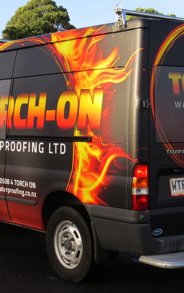 Torch-On Van