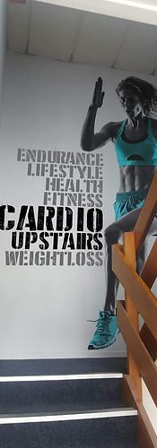 Gym Wall Signage