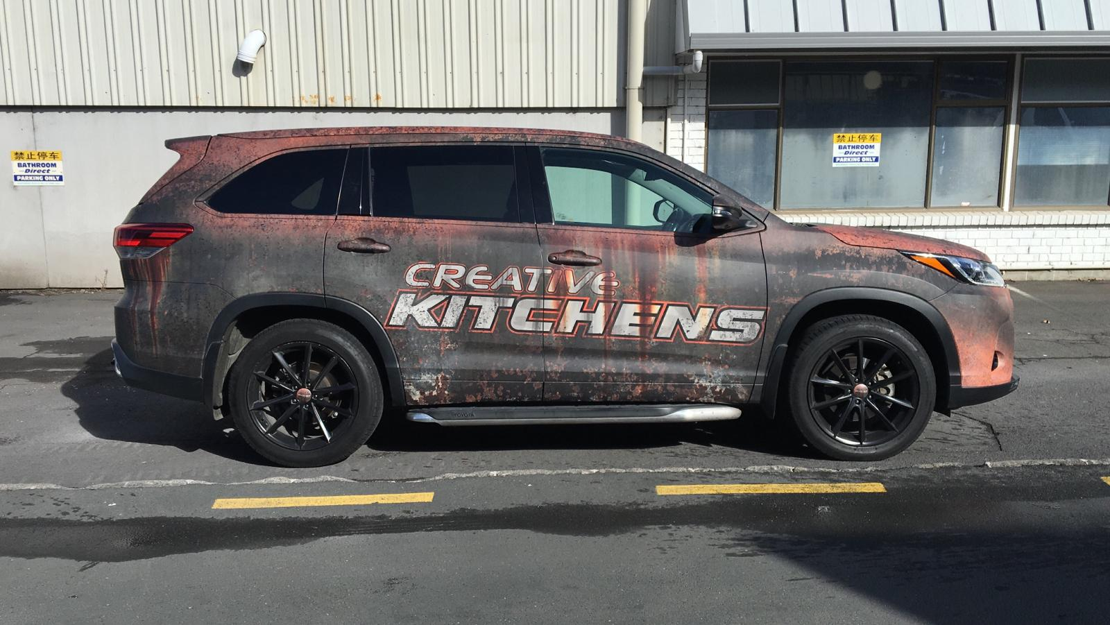 Creative Kitchens Rust Wrap