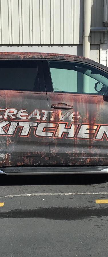 Creative Kitchens Rust Wrap