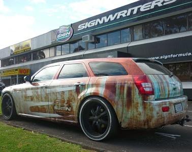 Rust Wrap Side