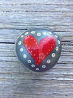 heart rock, Cathie Grindler