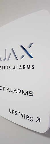 Small AJAX Acrylic