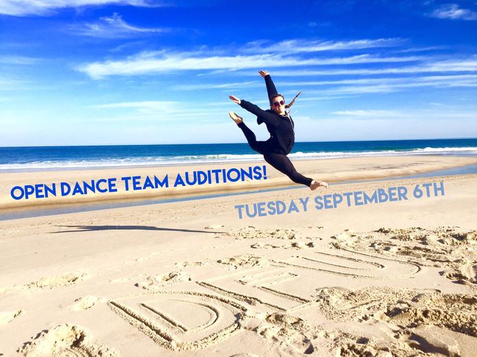 Open Dance Team Audition Announcement!