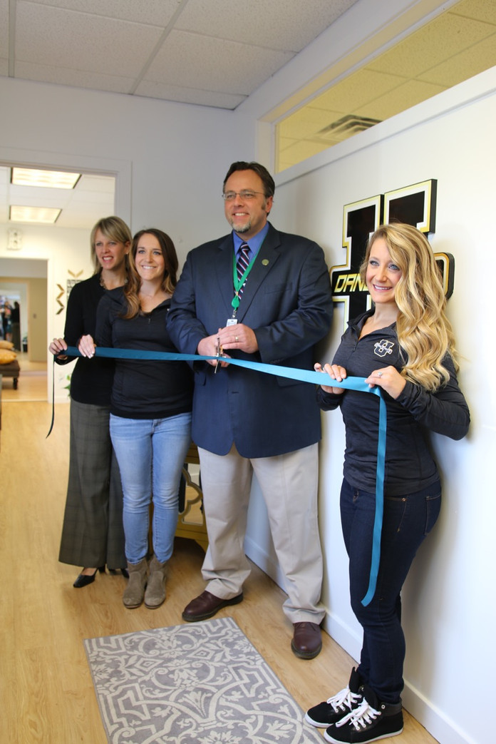 Ribbon Cutting Ceremony with Hamden Town Officials