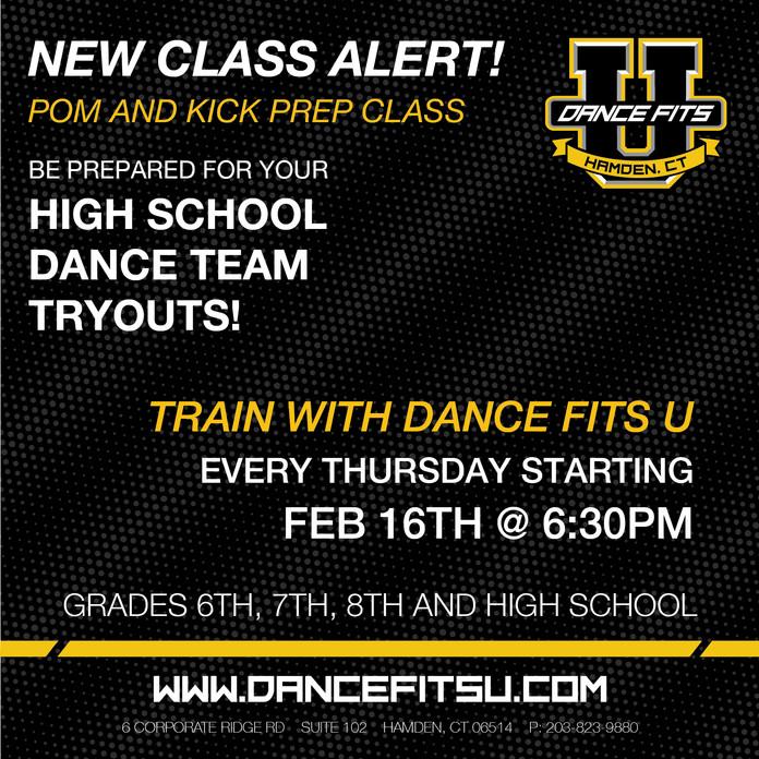 New Class Alert!