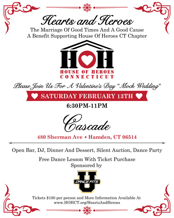 Hearts and Heroes Valentine's Day Fundraiser!