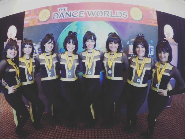 Open Elite Pom Dance Team at DANCE WORLDS!