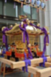 群馬県藤岡市藤岡 諏訪神社 神輿