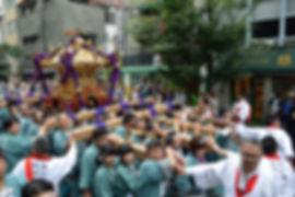 群馬県藤岡市藤岡 諏訪神社 神輿@平成27年日本橋