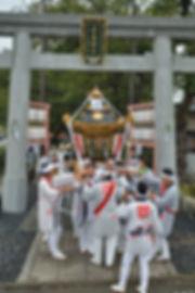 相模国四之宮 前鳥神社 1650年式年大祭奉祝渡御