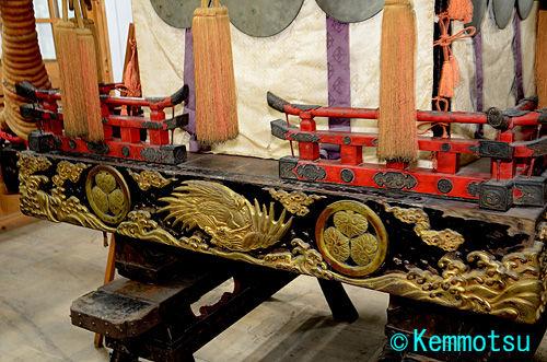 日吉大社 国指定重要文化財神輿 二宮 箱台輪